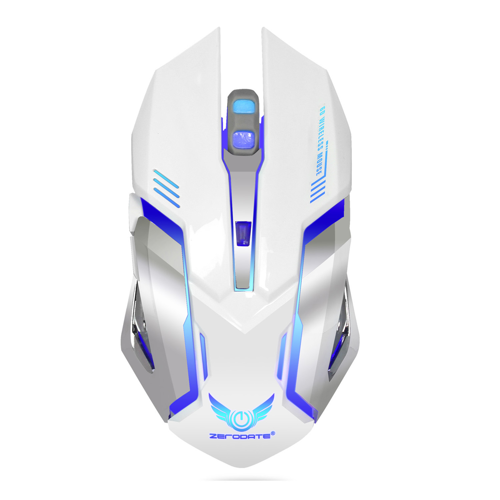 TSV Rechargeable X70 2.4GHz 7 Color LED Backlit Bluetooth Wireless USB Optical Gaming Mouse Mice For Computer Laptop