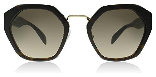 4aa3cb2940172 ... spain prada 04ts 2au3d0 havana 04ts square sunglasses lens category 2  size 55mm 8863a a1197