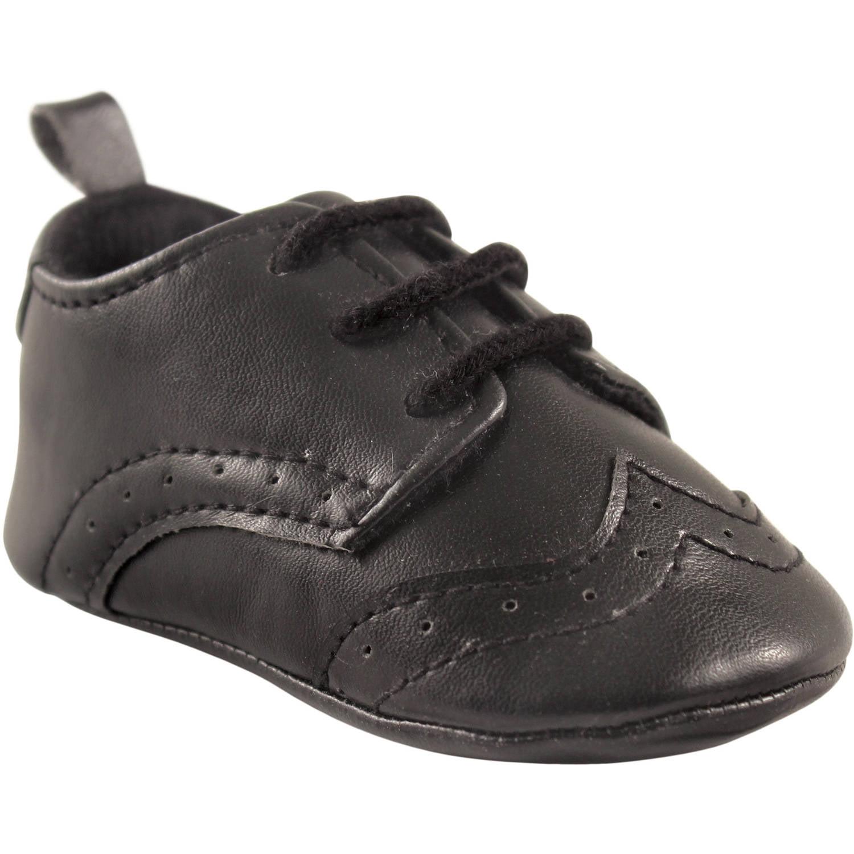Luvable Friends - Newborn Baby Boys Wingtip Dress Shoe ...