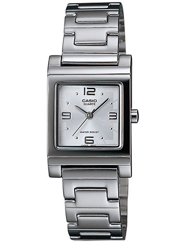 Women's Casual Square Watch, White