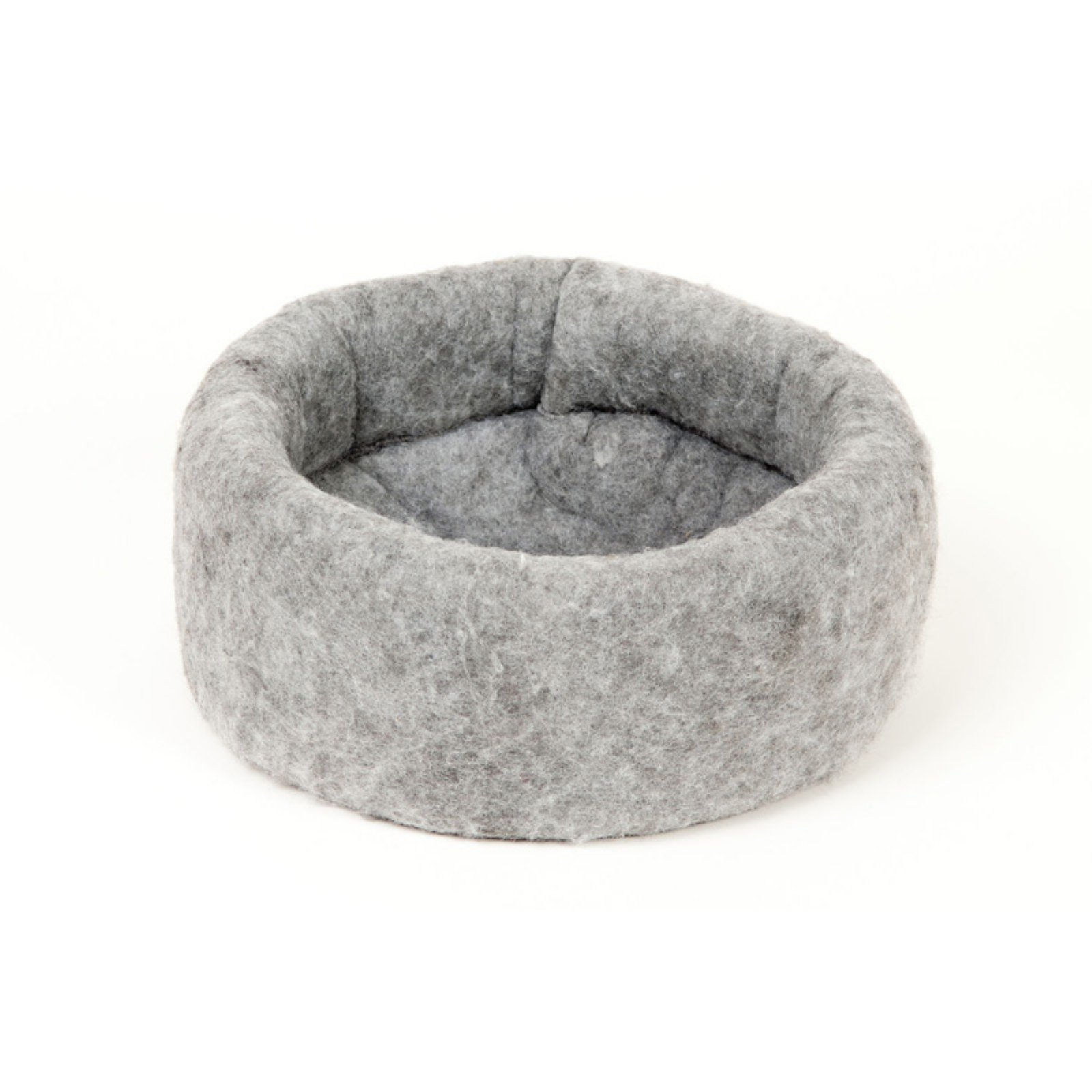 Kuddle Kup Mysterious Charcoal Cat Bed