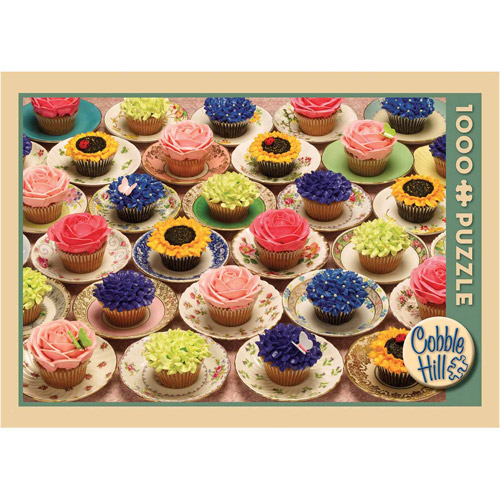 Cupcakes and Saucers Jigsaw Puzzle