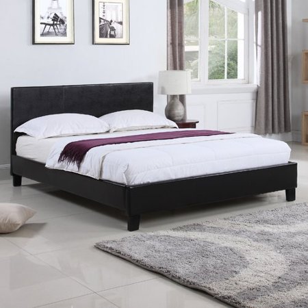 Madison Home USA Classic Upholstered Platform Bed