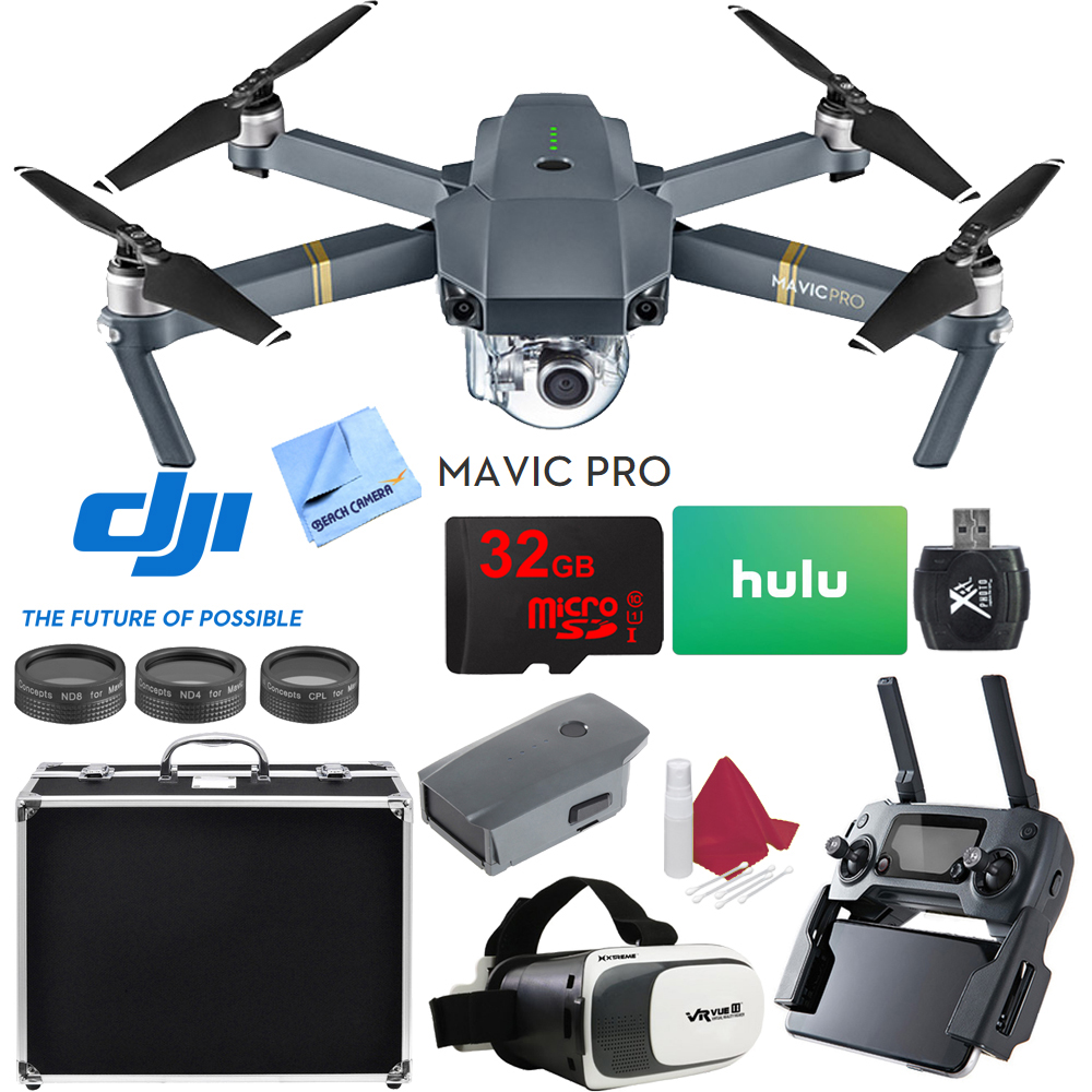 DJI Mavic Pro Quadcopter Drone with 4K Camera and Wi-Fi Super Pack by DJI