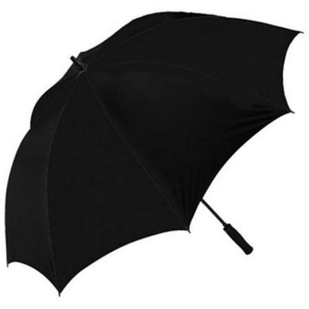 J&M Windproof 62-Inch Golf Umbrella, Black ()