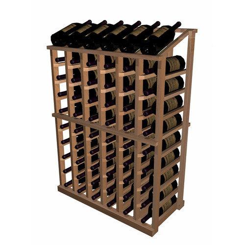 Wine Cellar Innovations Designer Series 66 Bottle Half Height with Display Wine Rack