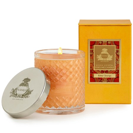 Agraria Woven Crystal Perfume Bitter Orange Candle -