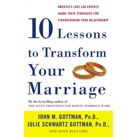 Ten Lessons to Transform Your Marriage : America's Love Lab Experts Share Their Strategies for Strengthening Your Relationship - Love Boat Julie
