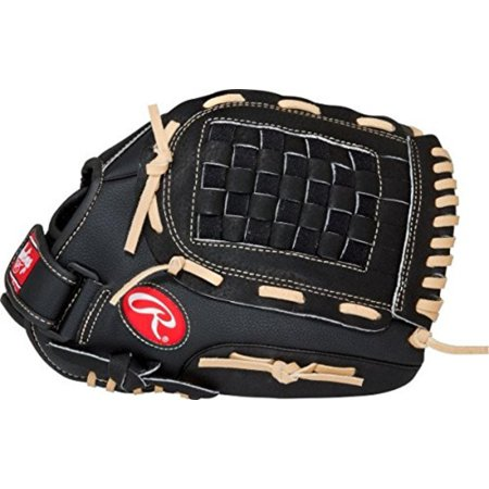 RSB Series Baseball Glove, Regular, Slow Pitch, Basket-Web, 13 Inch, 13-inch slow-pitch adult baseball glove great for recreational games By Rawlings