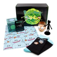 CultureFly Rick and Morty Collectible Box