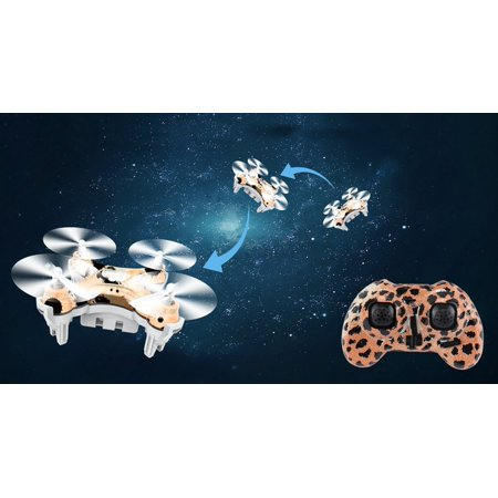 - for Cheerson New Product-for Cheerson CX-10D Upgrade 4 Channel Transmitter 2.4GHz 6 Axis Gyro System LED Rechargeable Portabel Mini Nano RC UFO Quadcopter - Camouflage