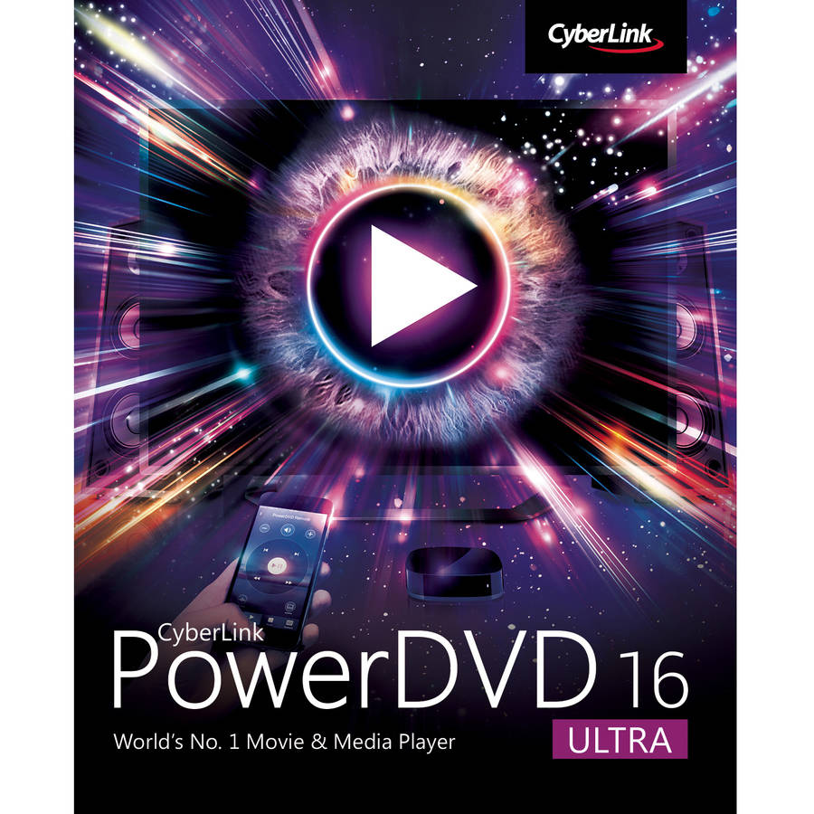 CyberLink DVD-EG00-RPU0-00 PowerDVD 16 Ultra (Email Delivery)