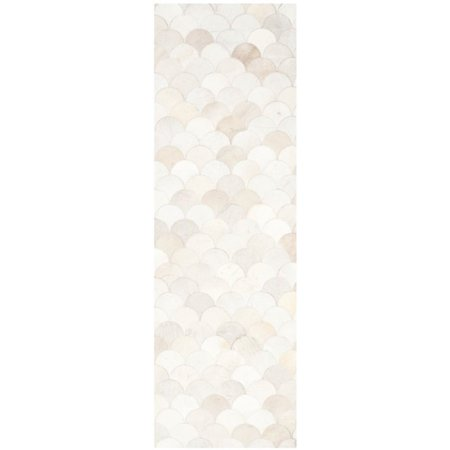 Safavieh Studio Leather 3' X 5' Hand Woven Leather Rug - image 5 de 8