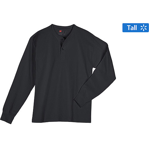 Big And Tall Men's Long Sleeve Hen