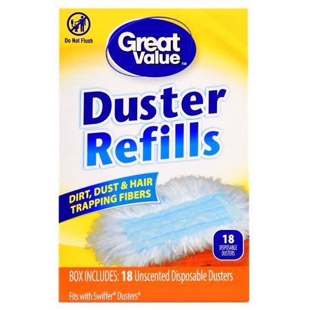 Great Value Duster Refills, 18 - Double Duster Refill