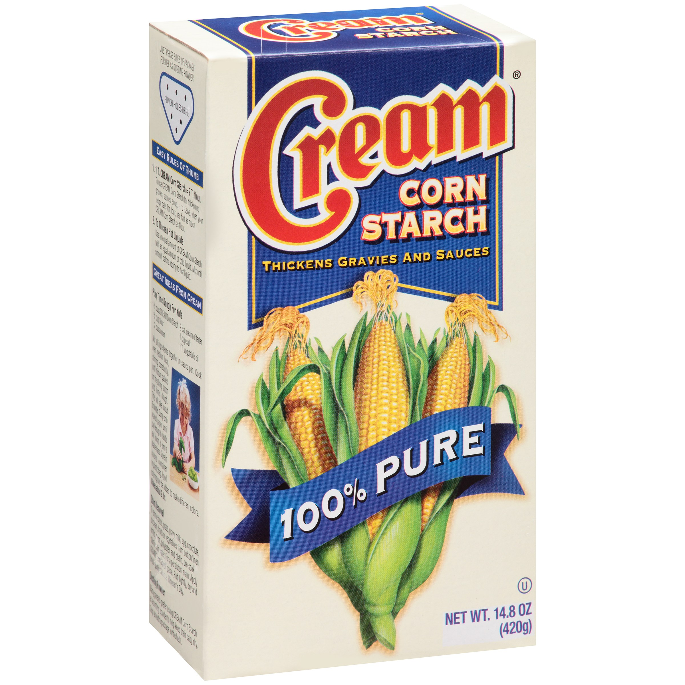 Cream® Corn Starch Thickens Gravies and Sauces 14.8 oz. Box