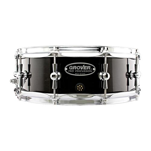 Grover Pro GSX Concert Snare Drum Charcoal Ebony 14 x 5 in.