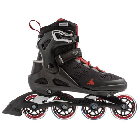 Rollerblade USA Macroblade 80 Mens Adult Fitness Inline Skate, Size 11, Black (Rollerblade Size 11)