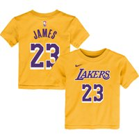 6ac29155 Product Image LeBron James Los Angeles Lakers Nike Preschool Name & Number  T-Shirt - Gold -