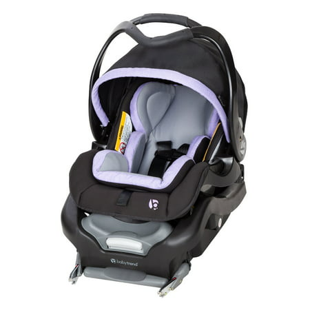Baby Trend Secure Snap Tech 35 lb Infant Car Seat, Lavender Ice