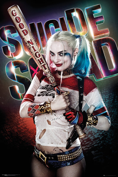 Collage Poster Suicide Squad HARLEY QUINN