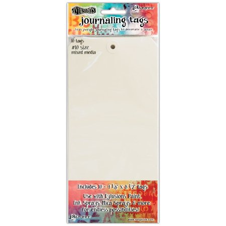 Dyan Reaveley's Dylusions Journal Tags 10/Pkg-Media Paper #10 - image 1 of 2
