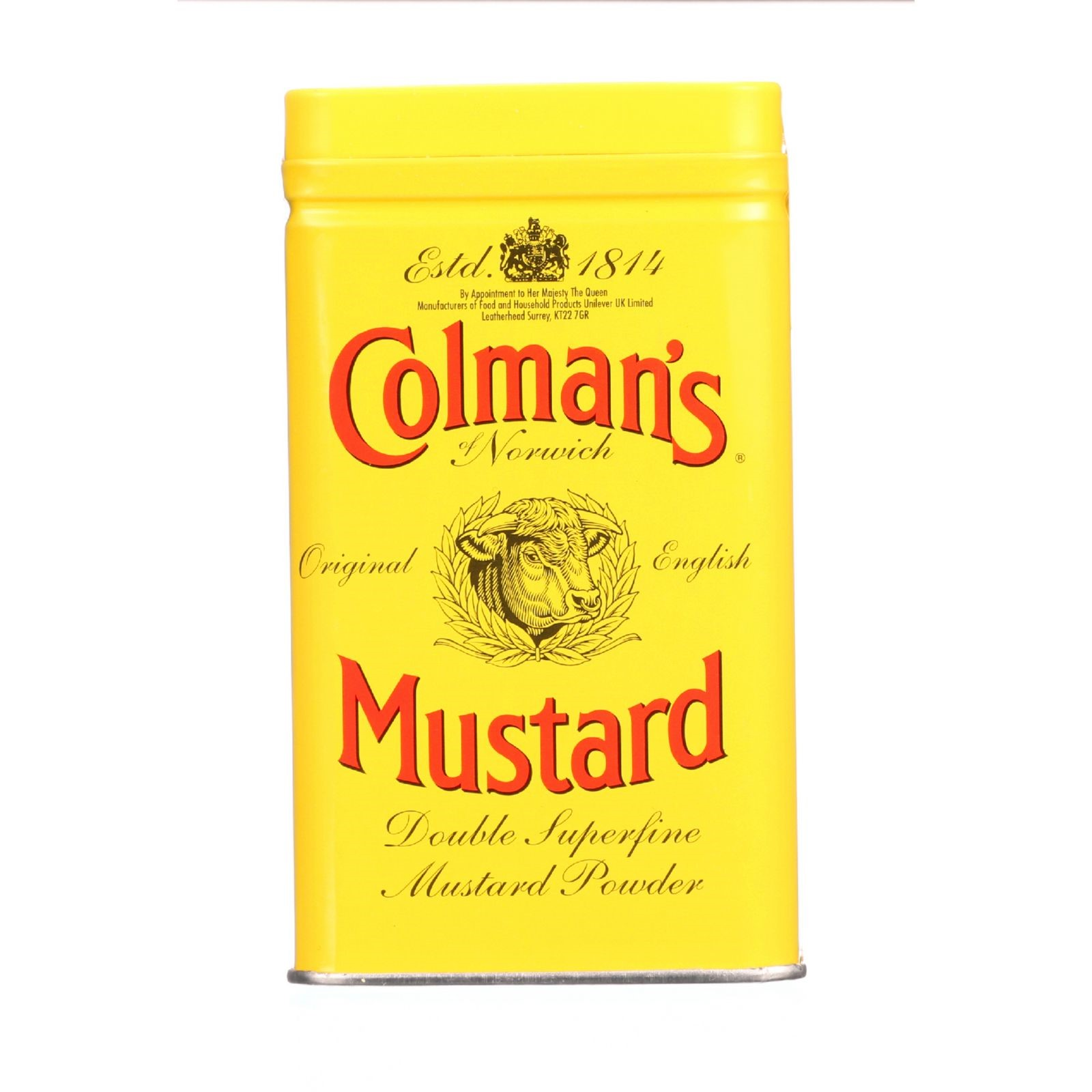 Colman's of Norwich Original English Mustard Powder Double Superfine, 4.0 OZ by Colman's