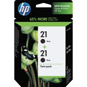 HP 21 Black Original Ink, 2 Cartridges (C9508FN)