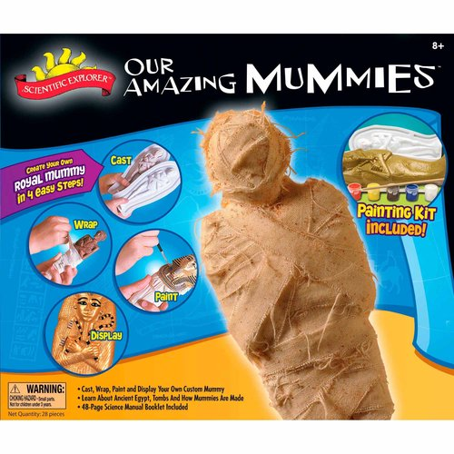 Scientific Explorer Our Amazing Mummies Model Kit
