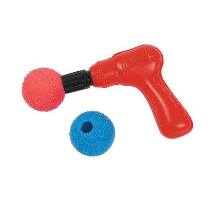 Fun Express - Plastic Air Blaster Gun W/ Foam Balls - Toys - Value Toys - Shooters & Swords - 12 Pieces](Toy Swords And Guns)