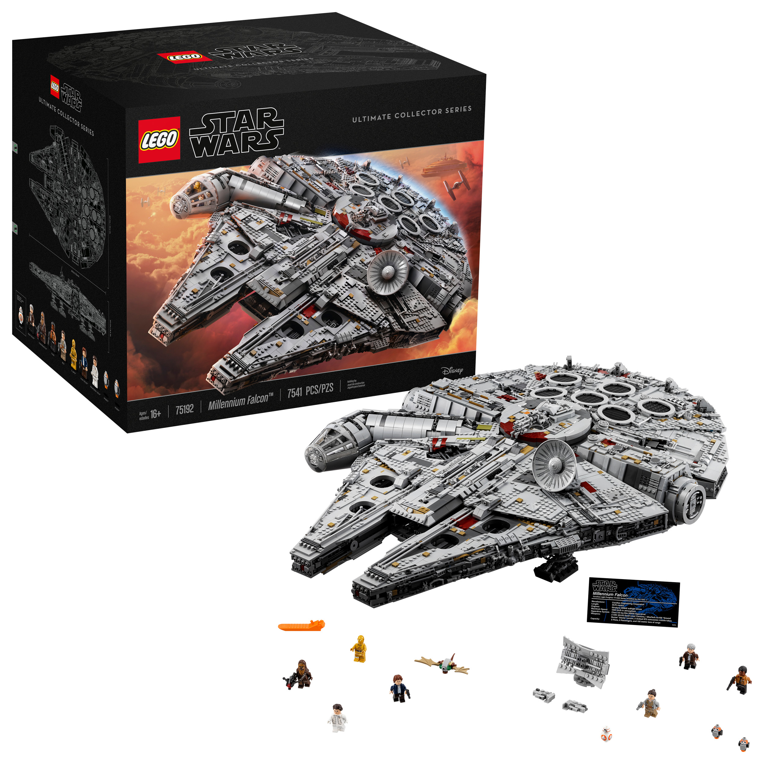 Lego Star Wars Millennium Falcon 75192 by LEGO System Inc