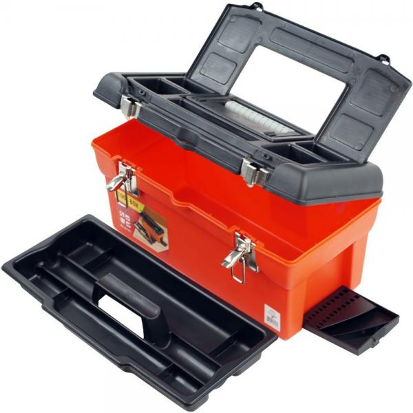 Stalwart Utility Box with 7 Compartments and Tray