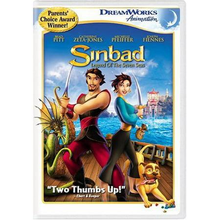 Sinbad-Legend of the Seven Seas (DVD) (Sinbad Legend Of The Seven Seas Cast)