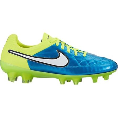 Nike Women's Tiempo Legacy FG Soccer Cleats (Blue Lagoon/White-Volt-Black