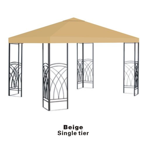 Sunrise Outdoor LTD Replacement Sunshade Single Tier Canopy Top Patio Pavilion Cover