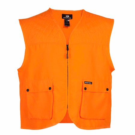Mossy Oak Blaze Orange Adult Cover Vest (Best Orange Hunting Vest)