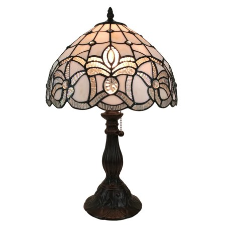 Floral One Light - Amora Lighting AM281TL12 Tiffany Style Floral Design Table Lamp