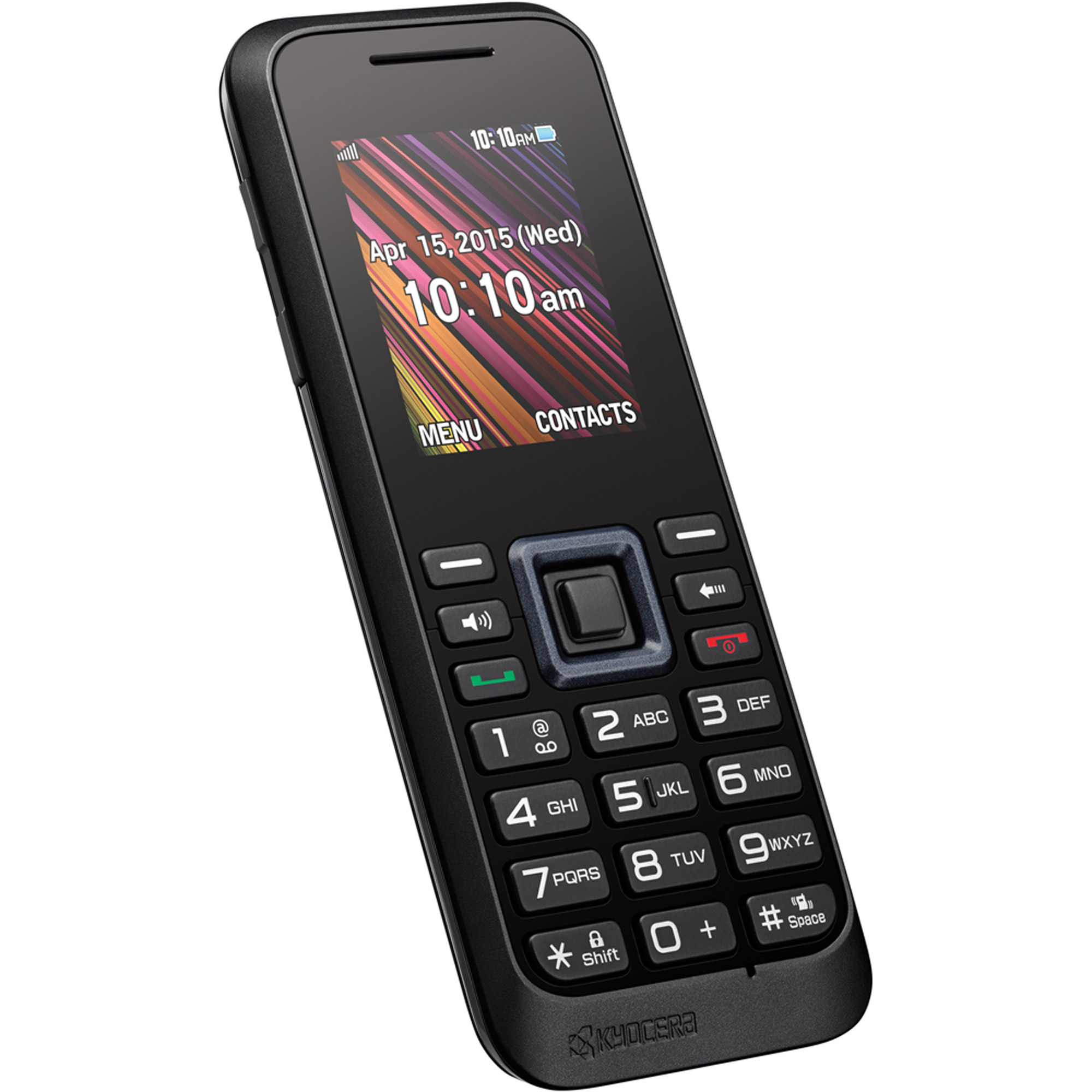 T-Mobile Kyocera Rally Prepaid Cell Phone, Graphite Gray