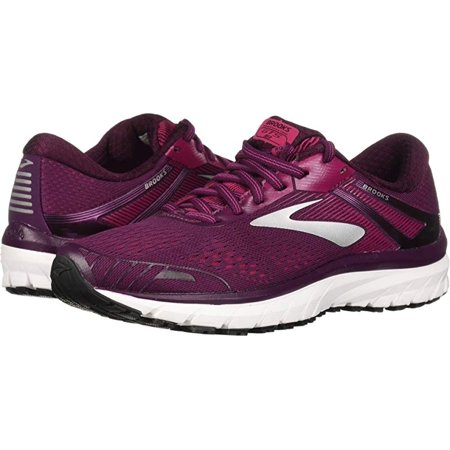 Brooks Women's Adrenaline GTS 18, Purple/Pink/Silver, 6 B(M) US (Womens Brooks Adrenaline Gts)