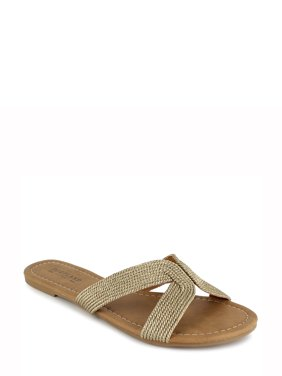Portland Boot Womens Company Metallic Slide Sandal