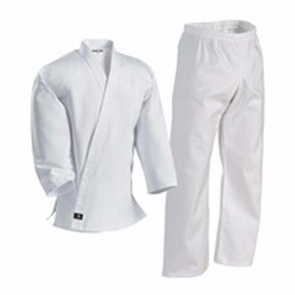 Century Kid's 7 oz. Middleweight Student Uniform with Elastic Pant - 000 - White