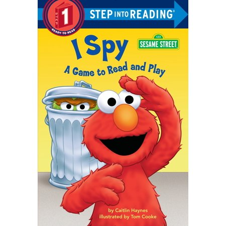 I Spy (Sesame Street) : A Game to Read and Play](Halloween I Spy Games)