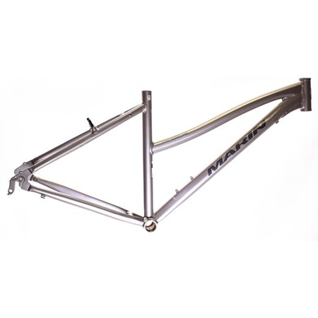 17  Marin San Anselmo Womens Hybrid City 700C Bike Frame Silver Alloy Nos New