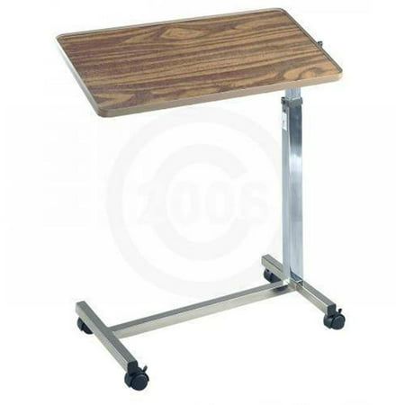 Drive Medical 13008 Over Bed Table - Tilt Top - 1 Per Case