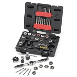 GearWrench 3886 40-Piece Tap and Die Set, Carbon Steel