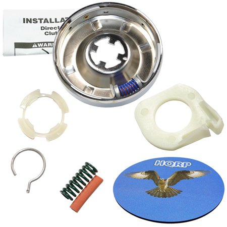 HQRP Washer Clutch Kit for Kenmore 11082873100 11082873300 11082873600 11082873700 11082873800 11084764300 11084764301 11084870100 11084870110 11084870300 11084870600 Washer + Coaster ()