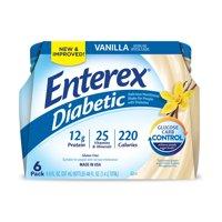 Enterex Diabetic Vanilla 8oz. 6pk