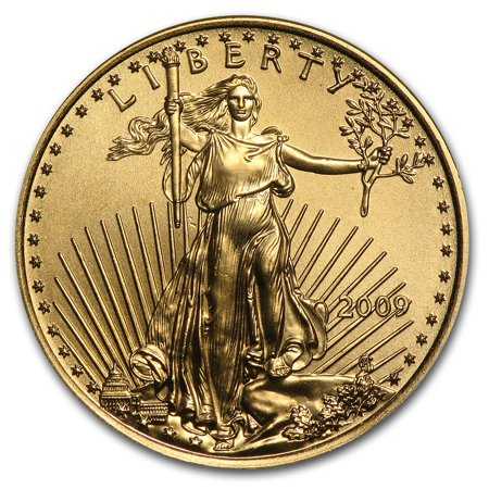 2009 1/4 oz Gold American Eagle BU American Eagle Gold Coin Value