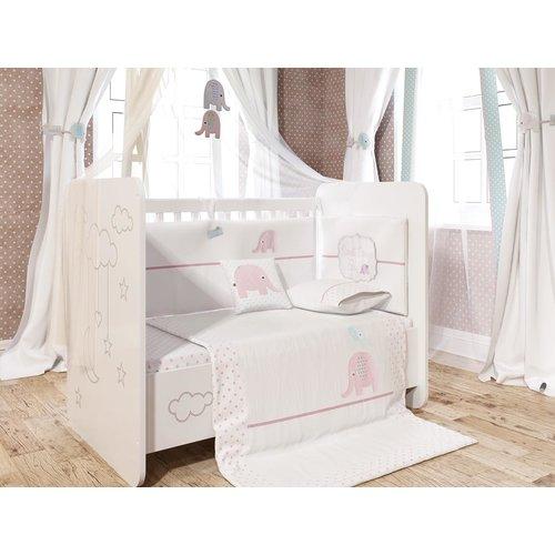 Harriet Bee Baywood Baby Girl Sleep 6 Piece Crib Bedding Set