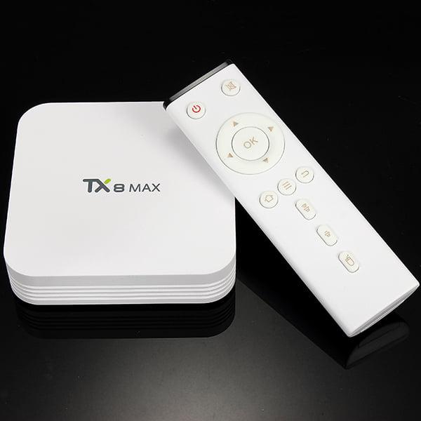 Tanix TX8 MAX 3GB DDR4 RAM 16GB ROM 4K Amlogic S912 Octa ...